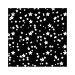 Black And White Starry Pattern Acrylic Tangram Puzzle (6  x 6 )