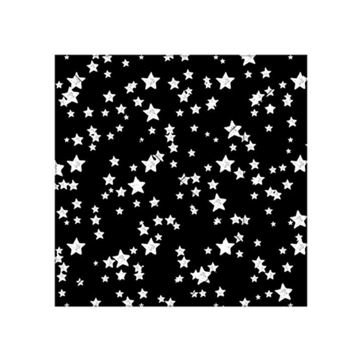 Black And White Starry Pattern Acrylic Tangram Puzzle (4  x 4 )