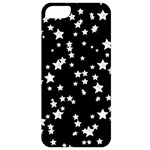 Black And White Starry Pattern Apple iPhone 5 Classic Hardshell Case