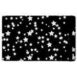 Black And White Starry Pattern Apple iPad 2 Flip Case