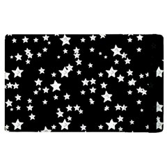 Black And White Starry Pattern Apple Ipad 3/4 Flip Case by DanaeStudio