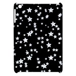 Black And White Starry Pattern Apple iPad Mini Hardshell Case