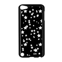 Black And White Starry Pattern Apple Ipod Touch 5 Case (black) by DanaeStudio