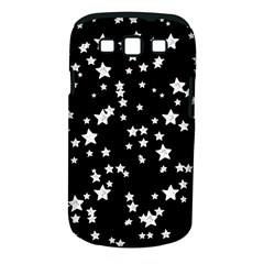 Black And White Starry Pattern Samsung Galaxy S Iii Classic Hardshell Case (pc+silicone) by DanaeStudio
