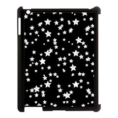 Black And White Starry Pattern Apple Ipad 3/4 Case (black) by DanaeStudio