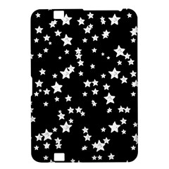 Black And White Starry Pattern Kindle Fire Hd 8 9  by DanaeStudio