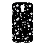 Black And White Starry Pattern Samsung Galaxy S4 I9500/I9505 Hardshell Case