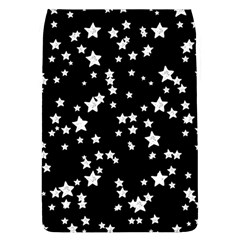 Black And White Starry Pattern Flap Covers (l)  by DanaeStudio