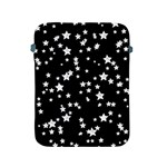 Black And White Starry Pattern Apple iPad 2/3/4 Protective Soft Cases