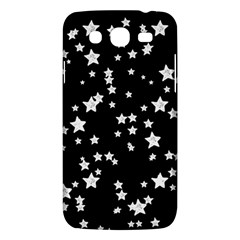 Black And White Starry Pattern Samsung Galaxy Mega 5 8 I9152 Hardshell Case
