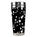 Black And White Starry Pattern Stainless Steel Travel Tumblers