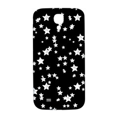 Black And White Starry Pattern Samsung Galaxy S4 I9500/i9505  Hardshell Back Case by DanaeStudio