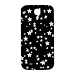Black And White Starry Pattern Samsung Galaxy S4 I9500/I9505  Hardshell Back Case