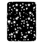 Black And White Starry Pattern Samsung Galaxy Tab 3 (10.1 ) P5200 Hardshell Case