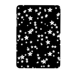 Black And White Starry Pattern Samsung Galaxy Tab 2 (10 1 ) P5100 Hardshell Case  by DanaeStudio