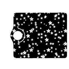Black And White Starry Pattern Kindle Fire Hdx 8 9  Flip 360 Case by DanaeStudio