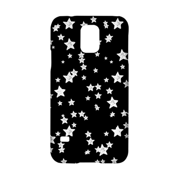 Black And White Starry Pattern Samsung Galaxy S5 Hardshell Case