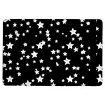 Black And White Starry Pattern iPad Air Flip