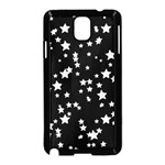 Black And White Starry Pattern Samsung Galaxy Note 3 Neo Hardshell Case (Black)