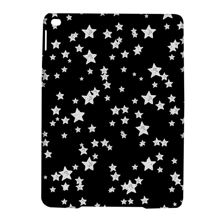 Black And White Starry Pattern iPad Air 2 Hardshell Cases