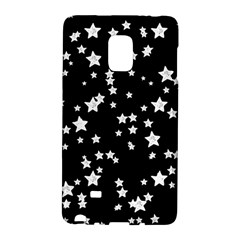 Black And White Starry Pattern Galaxy Note Edge by DanaeStudio