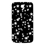 Black And White Starry Pattern Samsung Galaxy Mega I9200 Hardshell Back Case