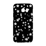 Black And White Starry Pattern Galaxy S6 Edge