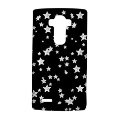 Black And White Starry Pattern Lg G4 Hardshell Case by DanaeStudio