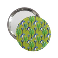 Tropical Floral Pattern 2.25  Handbag Mirrors