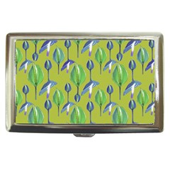 Tropical Floral Pattern Cigarette Money Cases