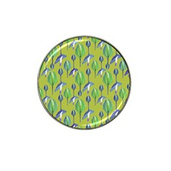 Tropical Floral Pattern Hat Clip Ball Marker (10 pack)