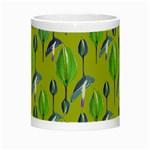 Tropical Floral Pattern Night Luminous Mugs Center
