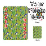 Tropical Floral Pattern Playing Cards 54 Designs  Front - Joker2