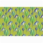 Tropical Floral Pattern Collage Prints 18 x12 Print - 1
