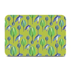Tropical Floral Pattern Plate Mats