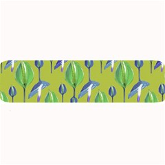 Tropical Floral Pattern Large Bar Mats