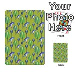 Tropical Floral Pattern Multi-purpose Cards (Rectangle)  Frontback