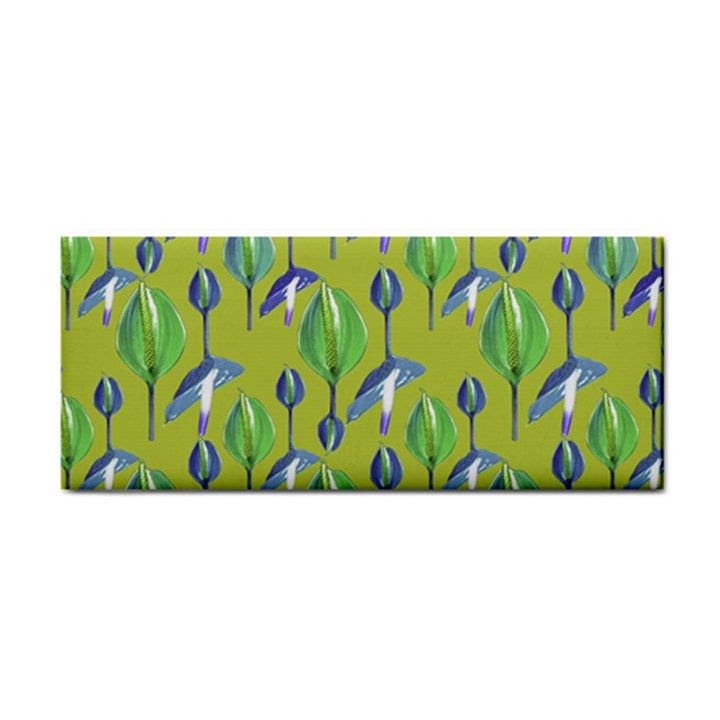 Tropical Floral Pattern Hand Towel