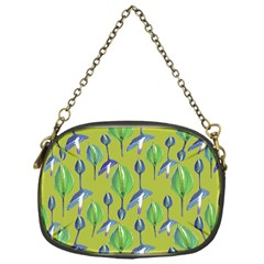 Tropical Floral Pattern Chain Purses (One Side)