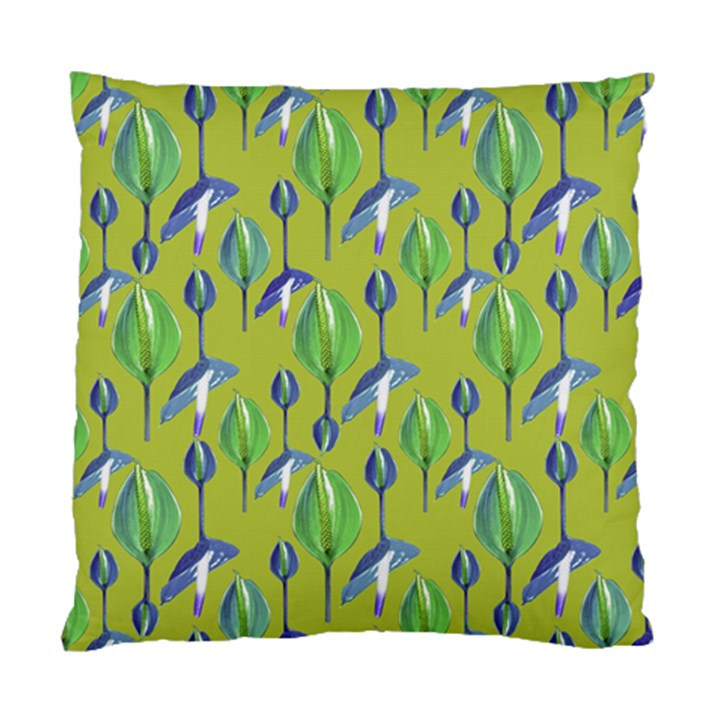 Tropical Floral Pattern Standard Cushion Case (Two Sides)