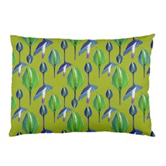 Tropical Floral Pattern Pillow Case