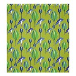 Tropical Floral Pattern Shower Curtain 66  x 72  (Large)