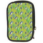 Tropical Floral Pattern Compact Camera Cases Front