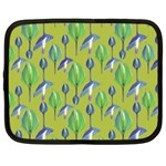 Tropical Floral Pattern Netbook Case (XXL)