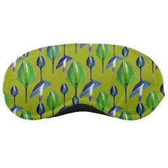 Tropical Floral Pattern Sleeping Masks