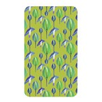 Tropical Floral Pattern Memory Card Reader Front