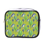 Tropical Floral Pattern Mini Toiletries Bags