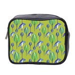 Tropical Floral Pattern Mini Toiletries Bag 2-Side
