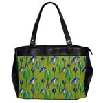 Tropical Floral Pattern Office Handbags