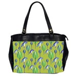 Tropical Floral Pattern Office Handbags (2 Sides)